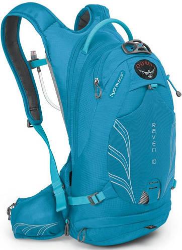 Удобный женский вело-рюкзак на 10 л. Osprey Raven 10 O/S синий