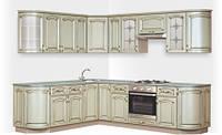 Кухонный гарнитур «РЕТРО ПАТИНА» Длина 3.540, Цена без столешницы, под заказ другой размер.