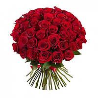 Букет из красных роз 101 шт.