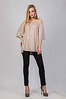 Легкая и просторная блуза из тонкого микродайвинга