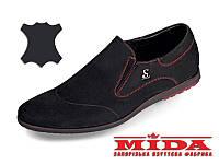 Комфортные кожаные туфли MIDA 11111(9) 40