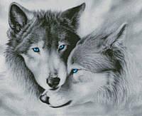 """Схема для вышивания """"волчья верность обрезанная"""""""
