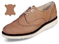 Стильные кожаные туфли MIDA 21412(11) 39