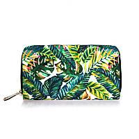 Кошелек Пальмовые листья
