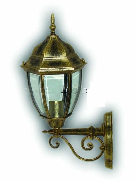 Уличный светильник настенный Lemanso PL6660 античное золото
