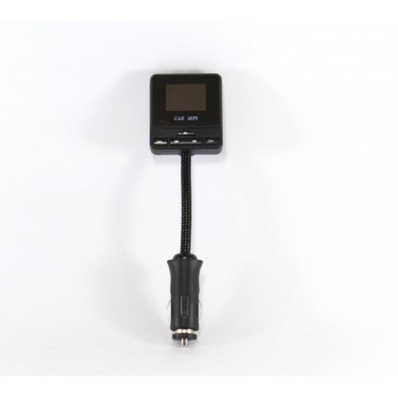 Трансмитер FM MOD. CM 9013, FM-модулятор с зарядкой  для телефона от прикуривателя и от сети