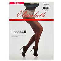 Колготки Elizabeth женские шелковистые, эластичные с шортиками с двойным кручением нити недорого 40 den Арт.00316-1 (5 пар в упаковке)