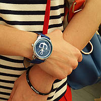Часы наручные Якорь синий