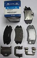 Оригинальные передние колодки Hyundai SONATA