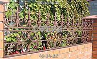 Забор «Ливерный Окрас»