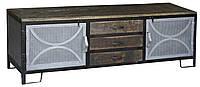 Тумба под ТВ IRON & W/N 2-DOOR 3-DRAWER TVC CGI1603. В стиле Лофт.