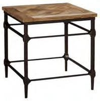 Кофейный столик IRON & W/N SIDE TABLE TABLE CGM 7019. В стиле Лофт.