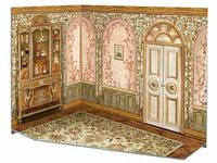 Румбокс для коллекционного набора мебели Детская 291-2 Умная бумага
