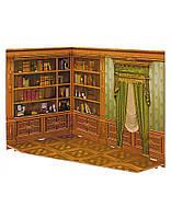 Румбокс для коллекционного набора мебели Кабинет 291-3 Умная бумага