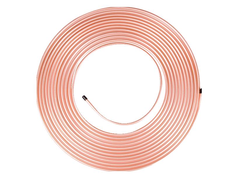 Мідна труба для кондиціонерів 3/8 дюйма