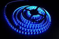 Светодиодная лента SMD3528 9,6W 120 LED/m IP20 синий Blue