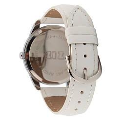 Ремешок для часов маст-хэв белый, серебро