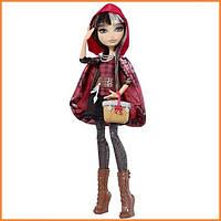 Кукла Ever After High Сериз Худ (Cerise Hood) Базовая ПЕРЕВЫПУСК Школа Долго и Счастливо