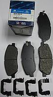 Оригинальные передние колодки Hyundai SANTAFE