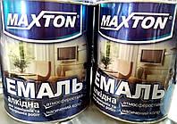 Maxton эмаль ПФ 115 вишневая 0,9 кг