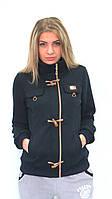 Куртка-кофта на флисе темно-синий