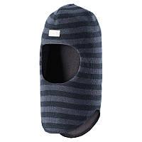 Шапка-шлем детская LASSIE 718694 тёмно-синий, Размер S
