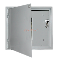 Антивандальный ящик БК-550-1U-С-ПТ (ВхШхГ - 500х550х100)