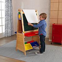 Детский двухсторонний деревянный мольберт KidKraft 62046 Master