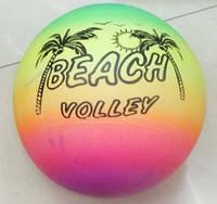 """Мяч 9"""" волейбол BT-PB-0007 цветной 80г сетка ш.к./300/"""