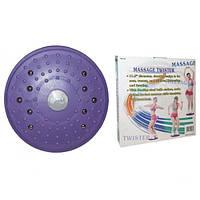 """Диск Здоровья с магнитами массажный Massage Twister, """"Грация"""" с магнитами"""