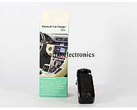 Трансмитер FM MOD. CM-S16BL + BT, FM-модулятор с зарядкой  для телефона от прикуривателя и от сети