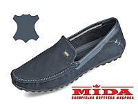 Комфортные кожаные мокасины MIDA 11781(12) 43