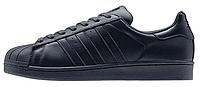 Женские кроссовки Adidas Superstar Supercolor PW Night Navy Адидас Суперстар Суперколор черные