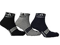 Носки мужские спорт укороченные Adidas  пр-во Турция