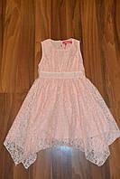 Нарядное гипюровое платье.Размеры 140-164 см,Фирма S&D.Венгрия