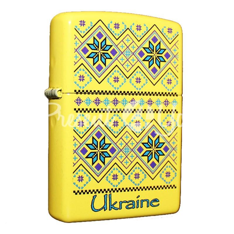 Зажигалка Zippo Ukraine Pattern 24839 UP