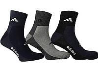 Носки мужские спорт укороченные Adidas  пр-во Турция, фото 1
