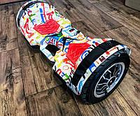 "Smart Balance Wheel 10"" С Ручкой Graffiti Модель 2017 Года"