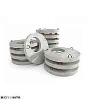 Плита перекрытия колодца,1ПП15-2,бетонная крышка на колодец 1ПП15-2,бетонная крышка для колодца 1,5м
