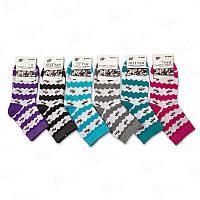 Носки женские с абстрактным принтом Шугуан B2651-3 носки дешево от производителя (в упаковке 12 ед.)