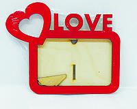 Фоторамка 10х15 Love