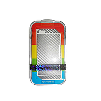 Защитная пленка Remax для Apple iPhone 5/5S/5C (front + back) Pure Sticker Silver
