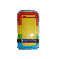 Защитная пленка Remax для Apple iPhone 5/5S/5C (front + back) Pure Sticker Yellow
