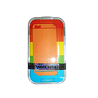 Защитная пленка Remax для Apple iPhone 5/5S/5C (front + back) Pure Sticker Orange