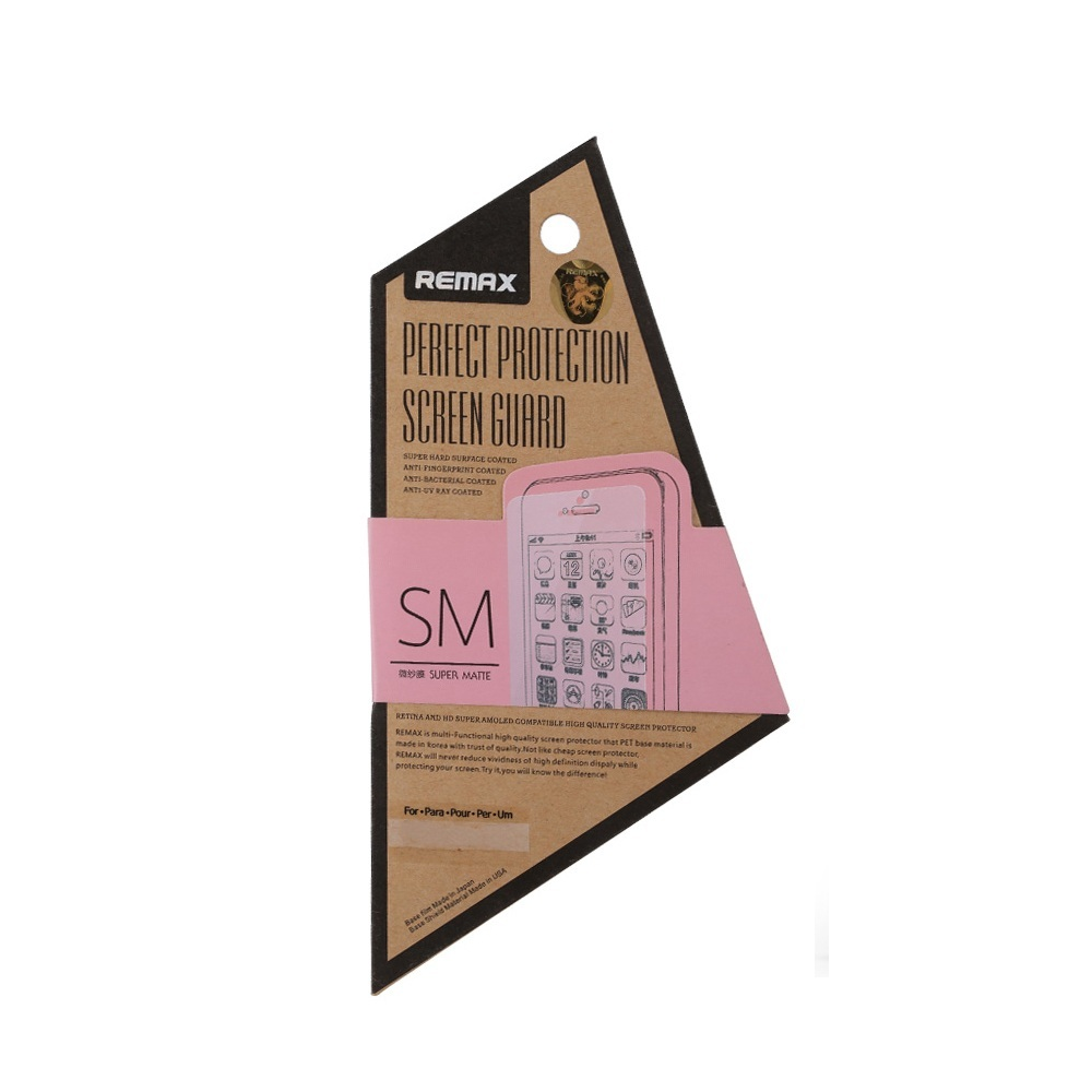 Защитная пленка Remax для Samsung Galaxy S5, Matte
