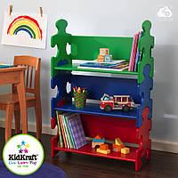 Детский книжный стеллаж Kidkraft 14400 Puzzle