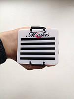 Планшет на руку на 5 лент на сьемном ремешке - резинке M - Lashes