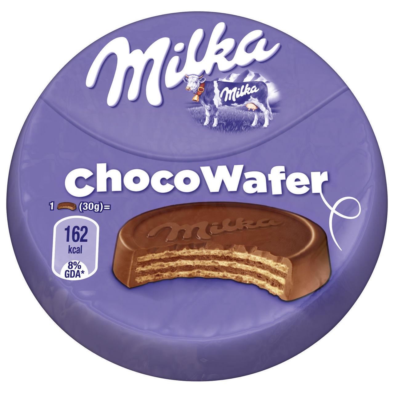 Вафли с шоколадом Milka Choco Waffer mini, 30 гр - Продукты из Италии - интернет магазин «Market IT» в Львове