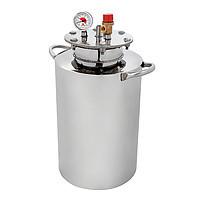 Автоклав бытовой из нержавейки HousePro-24 (24 пол литровых банок,14 литровых)