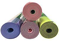 Коврик, мат, каремат для йоги, фитнеса, спорта, танцев, Hanuman